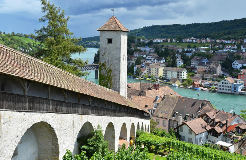 Schaffhausen, Швейцария стоковое изображение rf