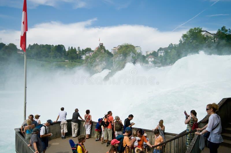Schaffhausen Rhine Falls royalty free stock photography