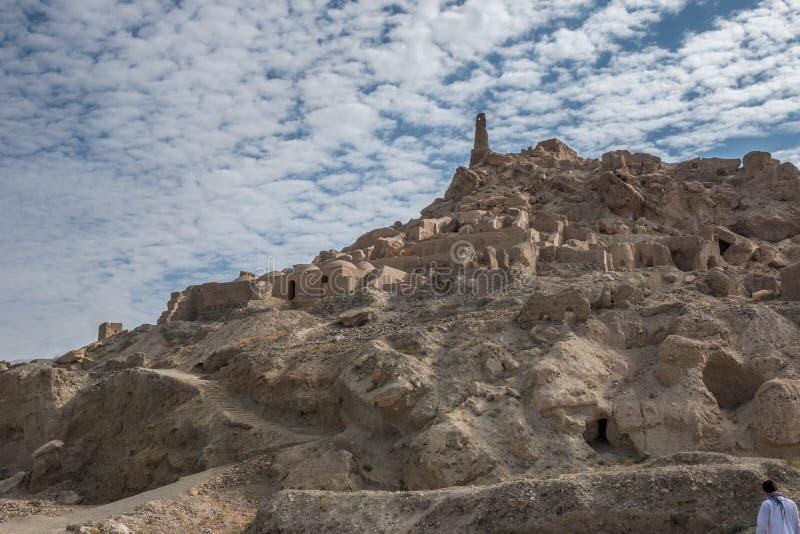Schahr-e gholghola - stad av skrin arkivfoton