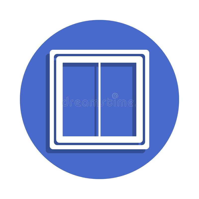 schakelaarpictogram in kentekenstijl Één van Elektroinzamelingspictogram kan voor UI, UX worden gebruikt stock illustratie