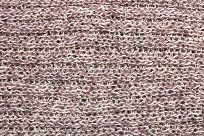 Schalbeschaffenheit der selbst gemachten gestrickten warmen woolen Frauen lizenzfreies stockfoto