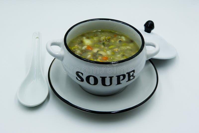 Schale Suppe stockfoto