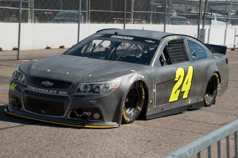 Schalen-Prüfung NASCAR Sprint stockfoto