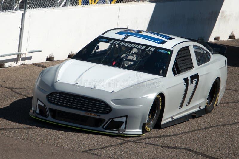 Schalen-Prüfung NASCAR Sprint lizenzfreies stockbild