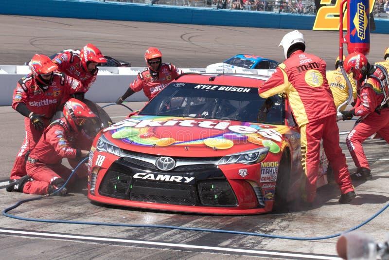 Schalen-Reihe NASCAR Sprint in Phoenix stockbild