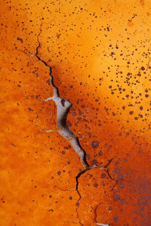 Schalen-Rost auf Eisen   stockbild