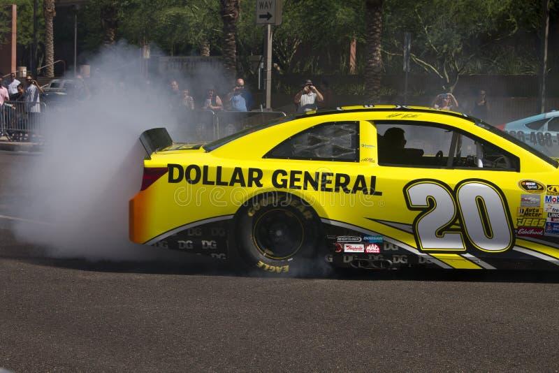 Schalen-Verfolgungsfahrer Matt Kenseth NASCAR Sprint stockbilder