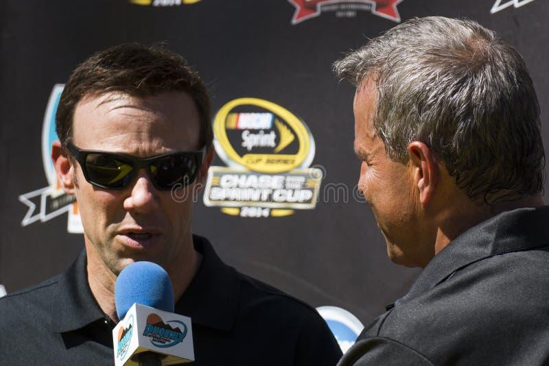 Schalen-Verfolgungsfahrer Matt Kenseth NASCAR Sprint lizenzfreies stockbild