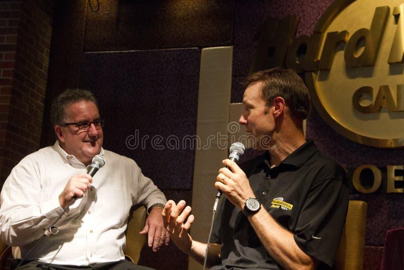 Schalen-Verfolgungsfahrer Matt Kenseth NASCAR Sprint lizenzfreies stockfoto