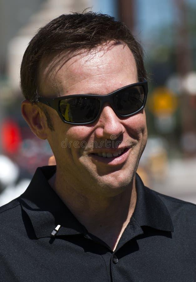 Schalen-Verfolgungsfahrer Matt Kenseth NASCAR Sprint stockfotografie