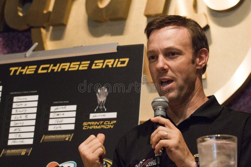 Schalen-Verfolgungsfahrer Matt Kenseth NASCAR Sprint stockfotos