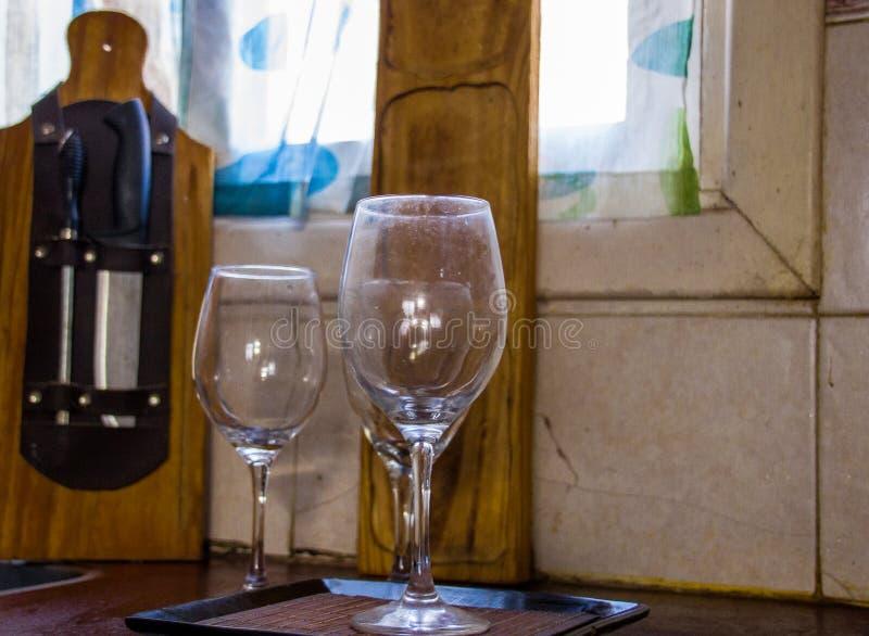 Schalen Wein stockfotografie