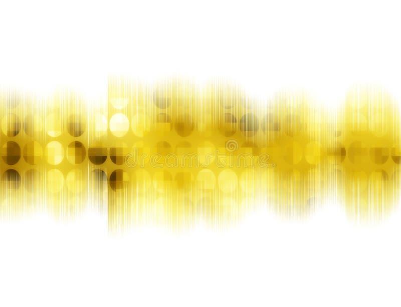 Schallwelle 9 vektor abbildung