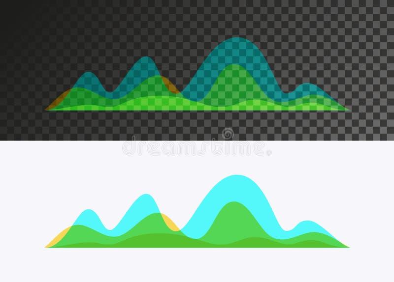 Schallwelle vektor abbildung
