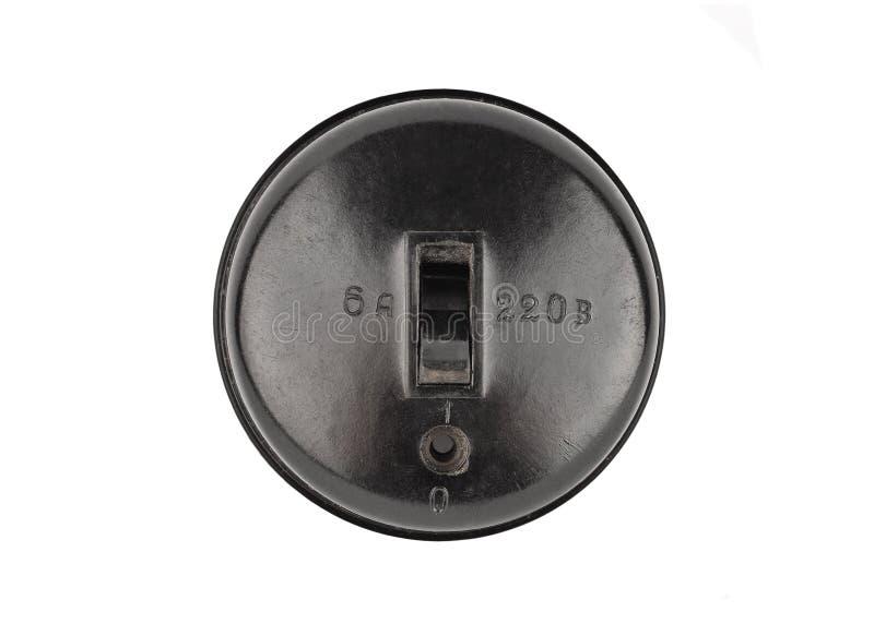 Schalter der elektrischen Leistung lizenzfreie stockfotografie