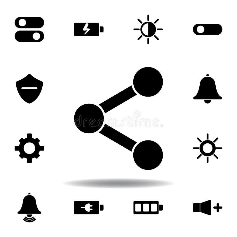 Schalter, Kippikone Zeichen und Symbole k?nnen f?r Netz, Logo, mobiler App, UI, UX verwendet werden lizenzfreie abbildung