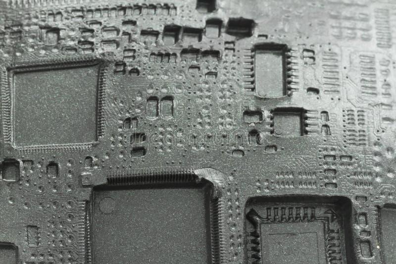 Elektronischer Hintergrund lizenzfreie stockfotografie