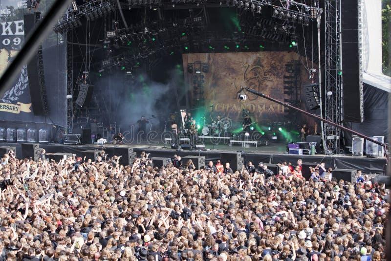 Schandmau no festival 2009 de Wacken fotos de stock royalty free
