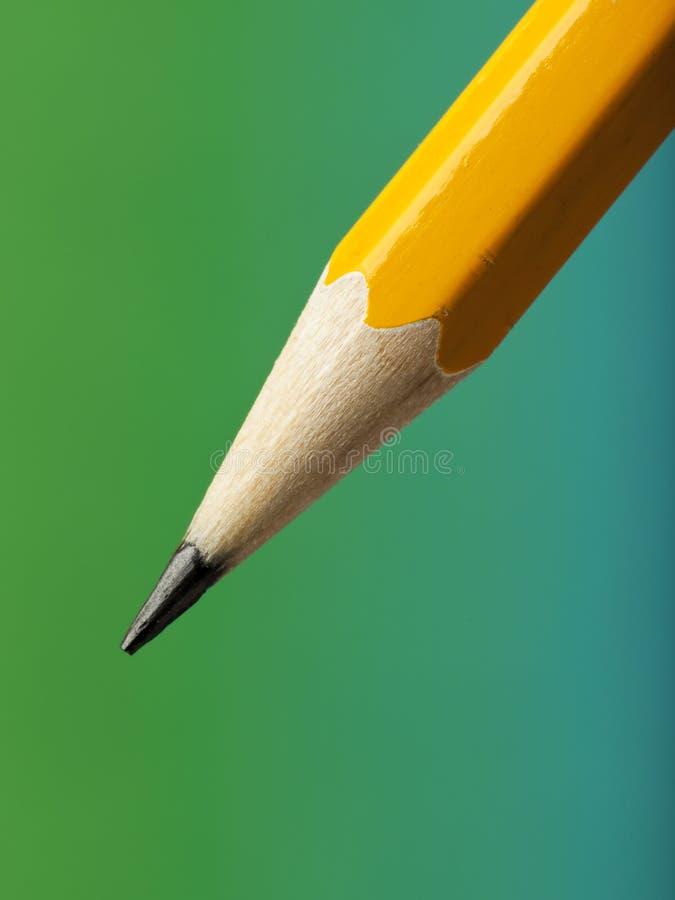 Scharfe Bleistiftspitze lizenzfreies stockbild