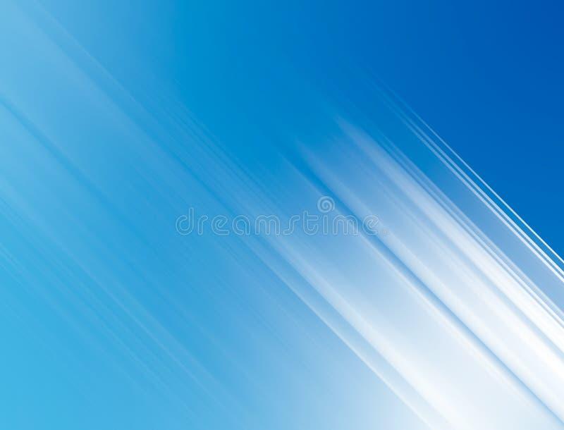 Scharfe weiße helle Strahlen stock abbildung