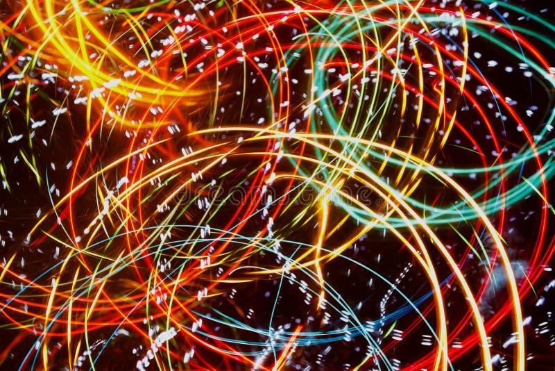 Scharfer und unfocused Lichthintergrund, abstrakt lizenzfreie stockbilder