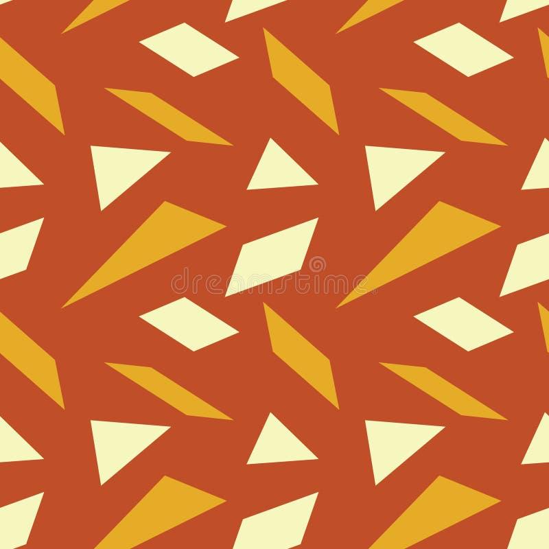 Download Scharfes Glas Bessert Nahtloses Muster Aus Vektor Abbildung - Illustration von dreiecke, gewebe: 106802394