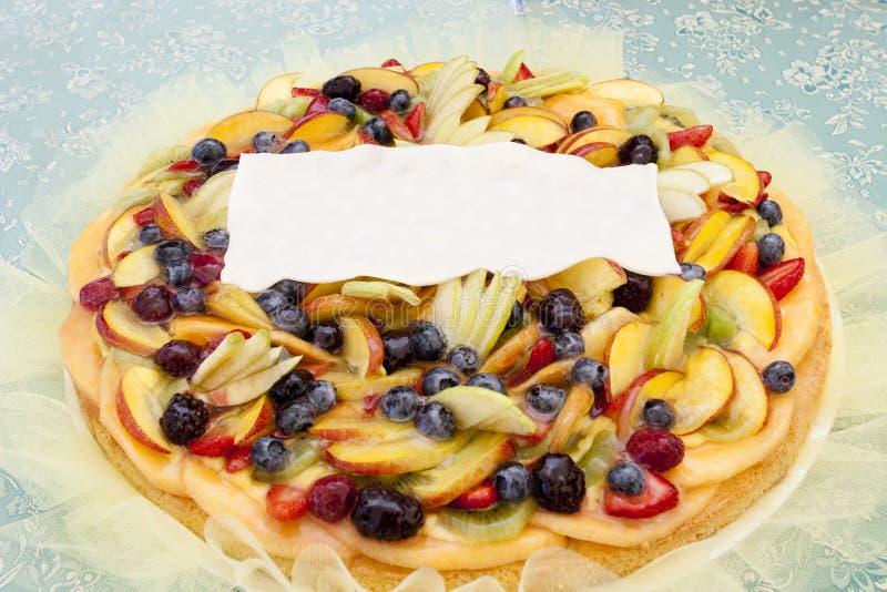 scharfes Misch der köstlichen Frucht mit Gelee lizenzfreie stockfotos