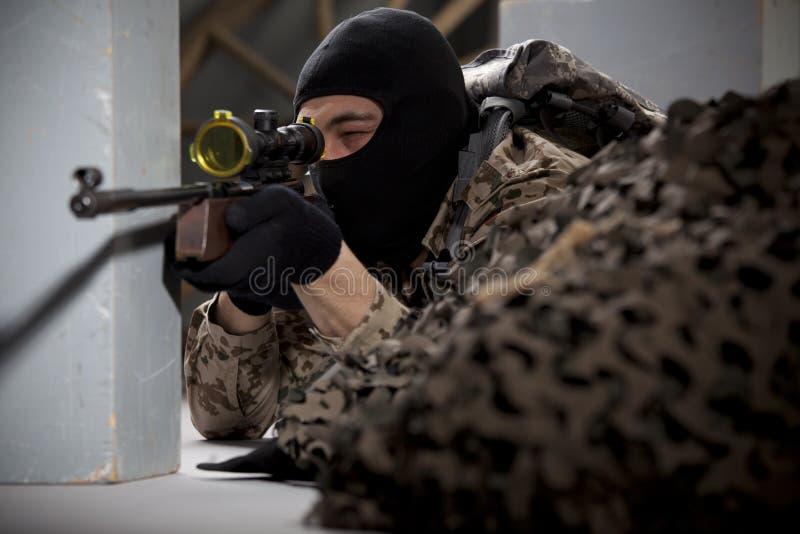 Scharfschütze stockfotos
