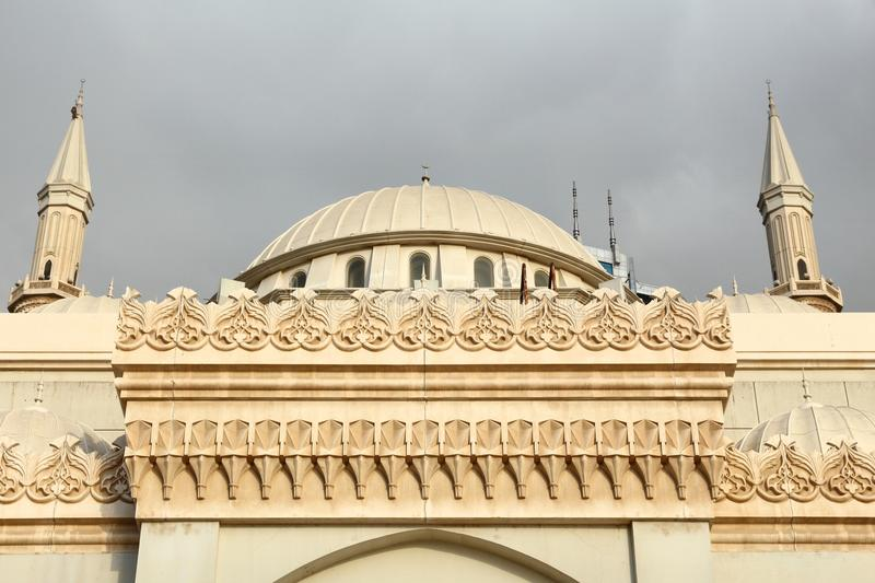 Scharjah-Moschee stockfotos