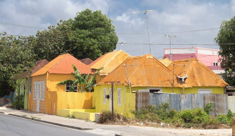 Scharloo żółty drewniany budynek obrazy royalty free