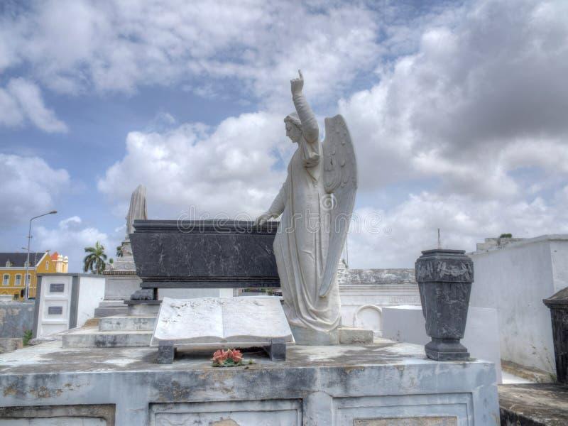 Scharloo kyrkogård arkivbilder