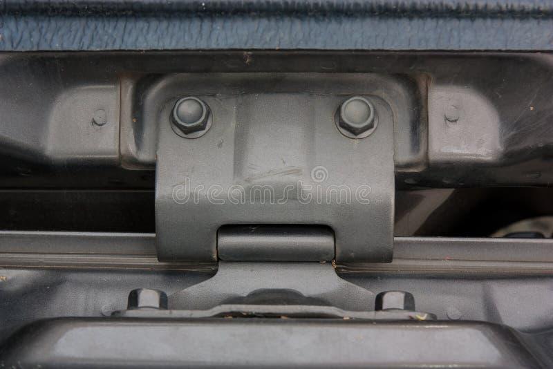 Scharnierend deksel van de bestelwagen royalty-vrije stock foto's