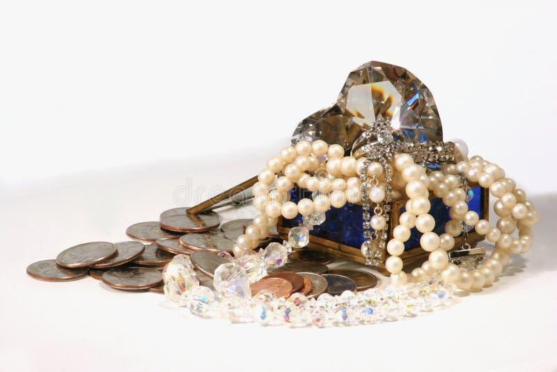 Schat royalty-vrije stock afbeelding