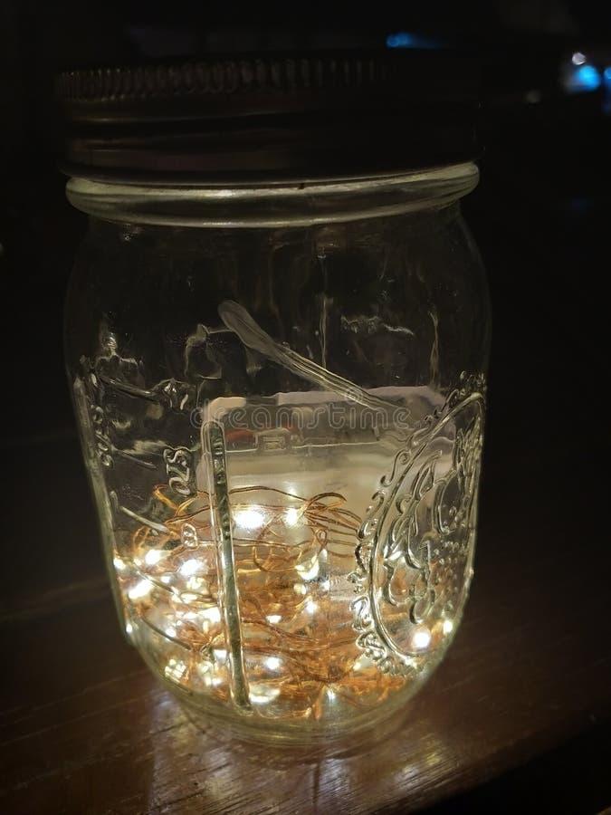 Schat in een fles royalty-vrije stock foto
