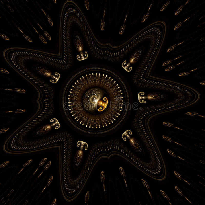 Schat van de ster vector illustratie