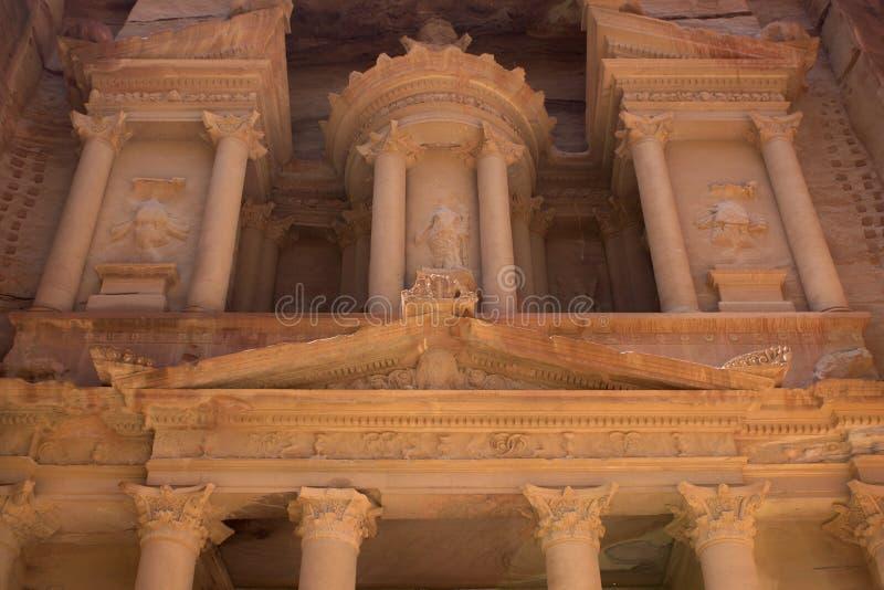 Schatkist van Petra royalty-vrije stock afbeelding