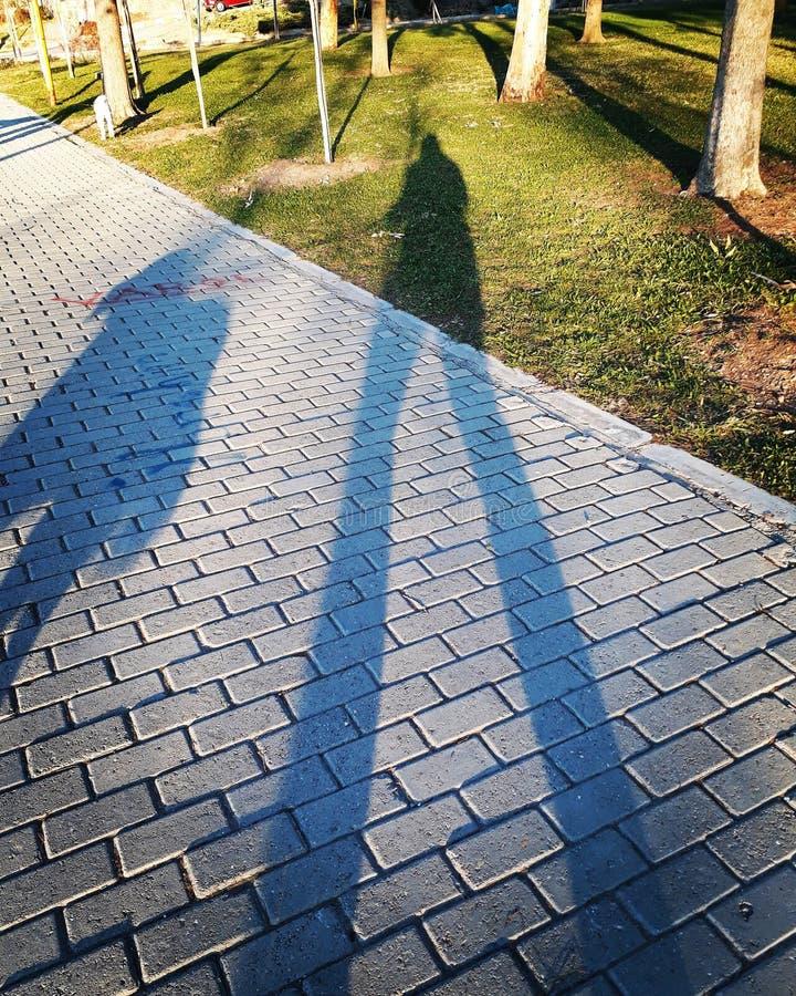 Schatten stockbild
