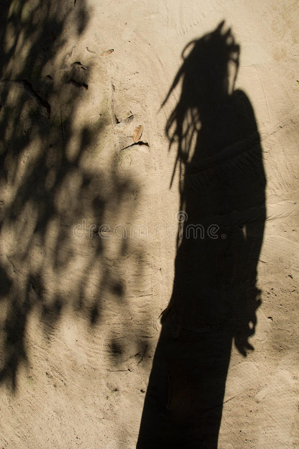 Schatten der Leute lizenzfreie stockfotos
