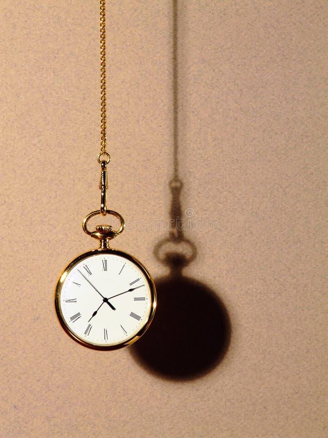 Schatten der Zeit stockfoto