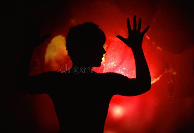 Schattenbild stockfoto