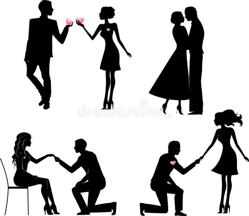 Flirt der frau