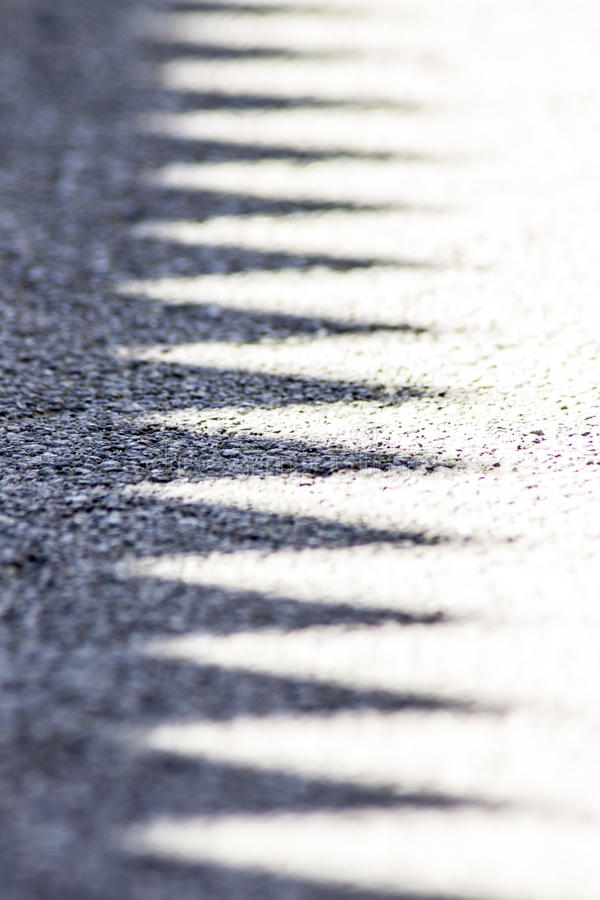 Schattenlinien stockbilder
