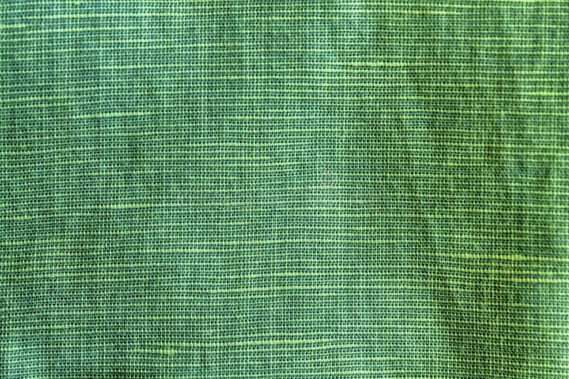 Schattierte gezierte Nahaufnahmebeschaffenheit, Leinenhintergrund, Flachsoberflächenniveau, Gewebemuster stockbild