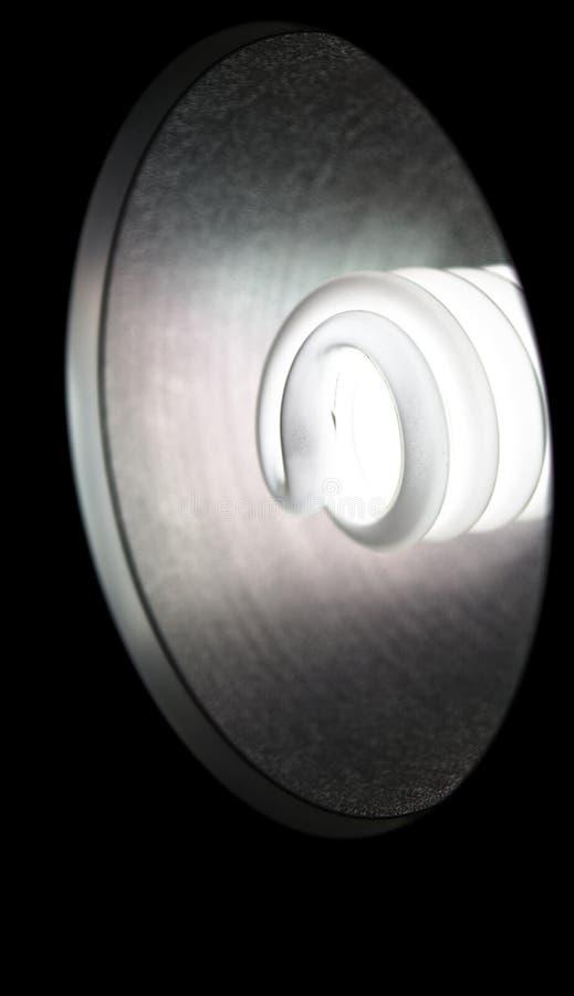 Schattierte Lampe IV stockbild