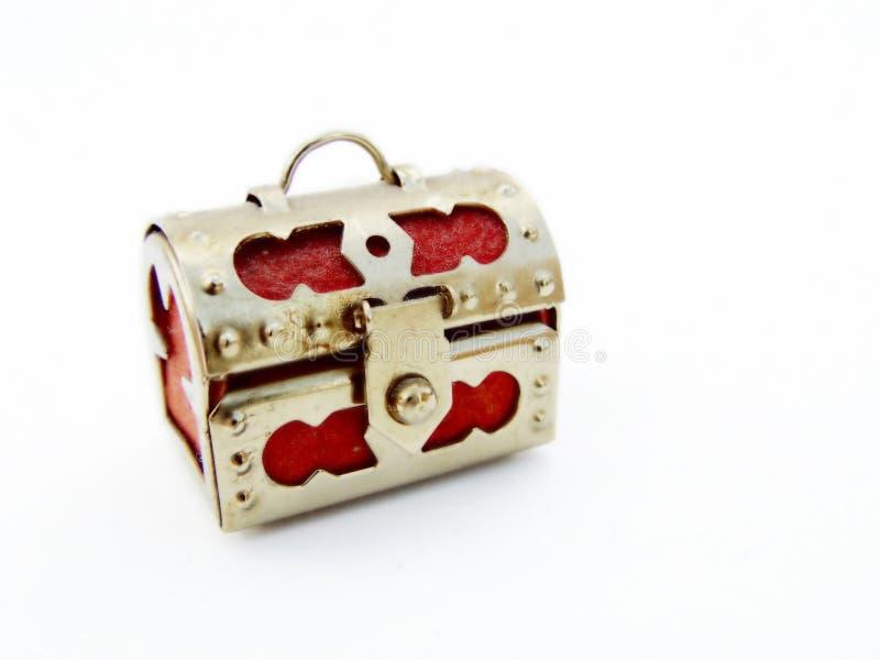 Schatz-Kasten Stockbild