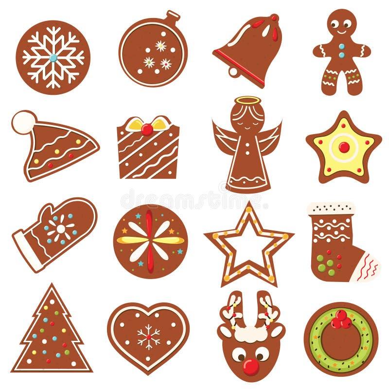 Schauen Sie durch mein Portefeuille, um mehr Bilder der gleichen Serie zu finden Bäckerei des neuen Jahres Traditionelle verziert lizenzfreie abbildung