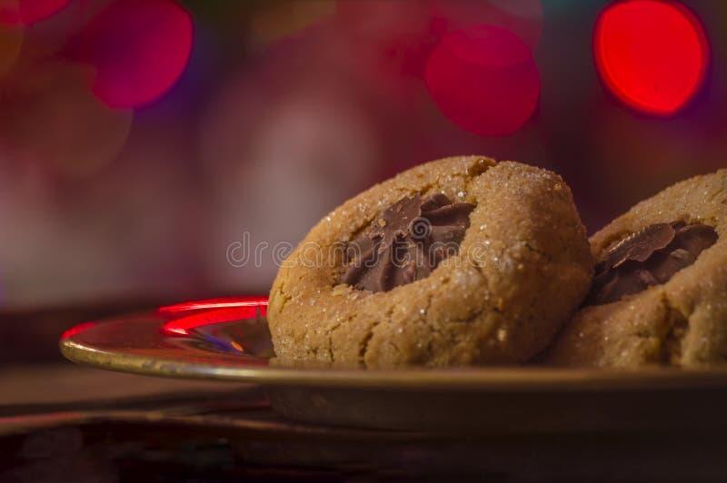Schauen Sie durch mein Portefeuille, um mehr Bilder der gleichen Serie zu finden Dieses ist eine Fotografie von Weihnachtsplätzch stockfotos