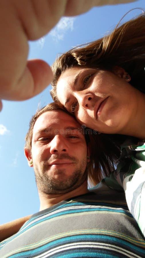 Schauen Sie oben Liebe lizenzfreies stockfoto