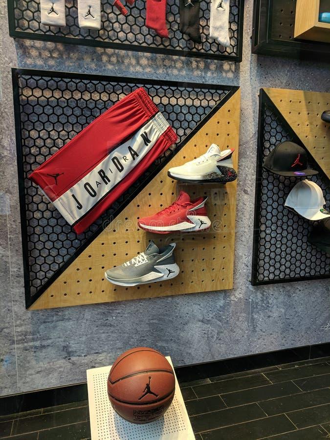 Wien, Österreich 14. JUNI 2017: Nike Air Jordan 10 Retro