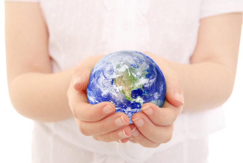 Schaukeln der Erde lizenzfreie stockbilder